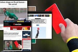 Курьез года: шведский судья удалил футболиста за неприличные звуки во время матча