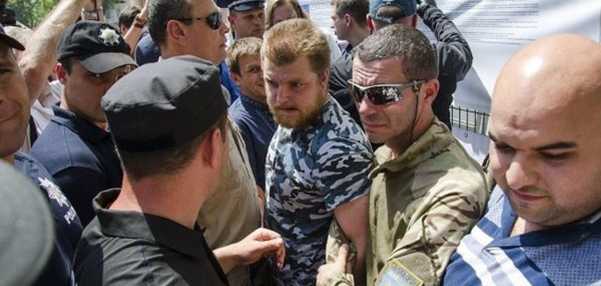 На участников 'антитрухановского майдана' в Одессе могут подать в суд за клевету: опубликованы фото