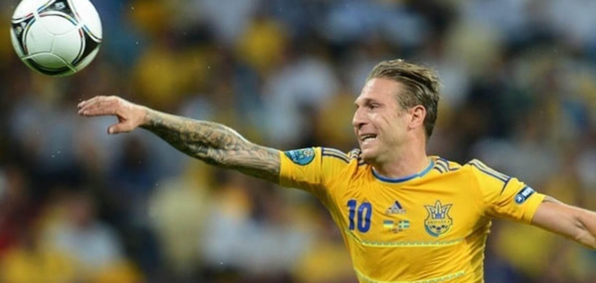 Воронин сборная Украины