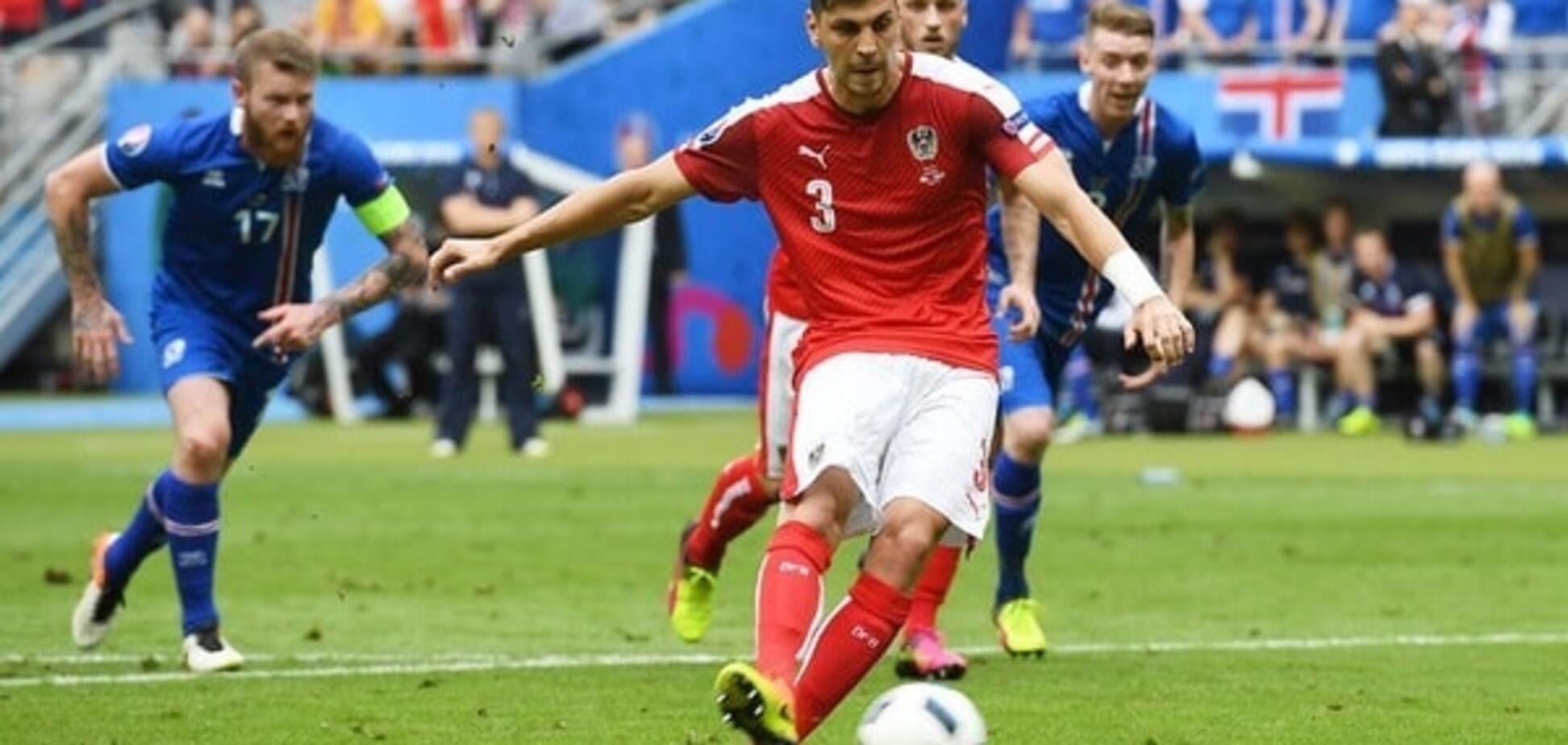Александар Драгович сборная Австрии Евро-2016