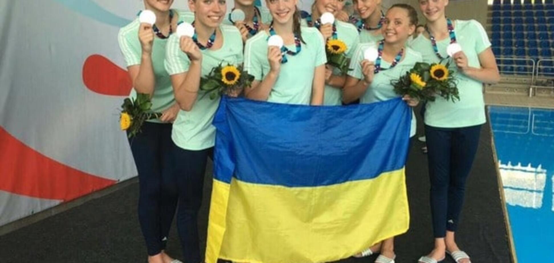 Юніорська збірна України з синхронного плавання