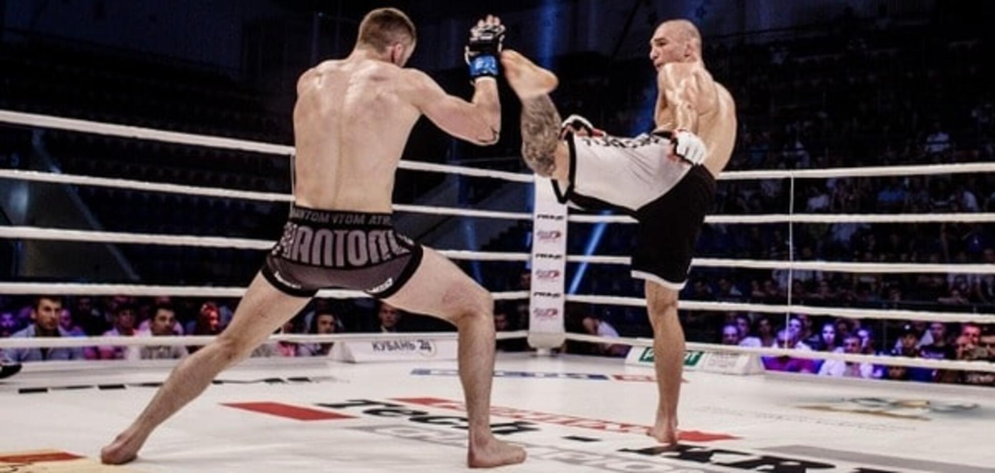 Непобедимый украинский боец стал чемпионом мира, выиграв турнир в России