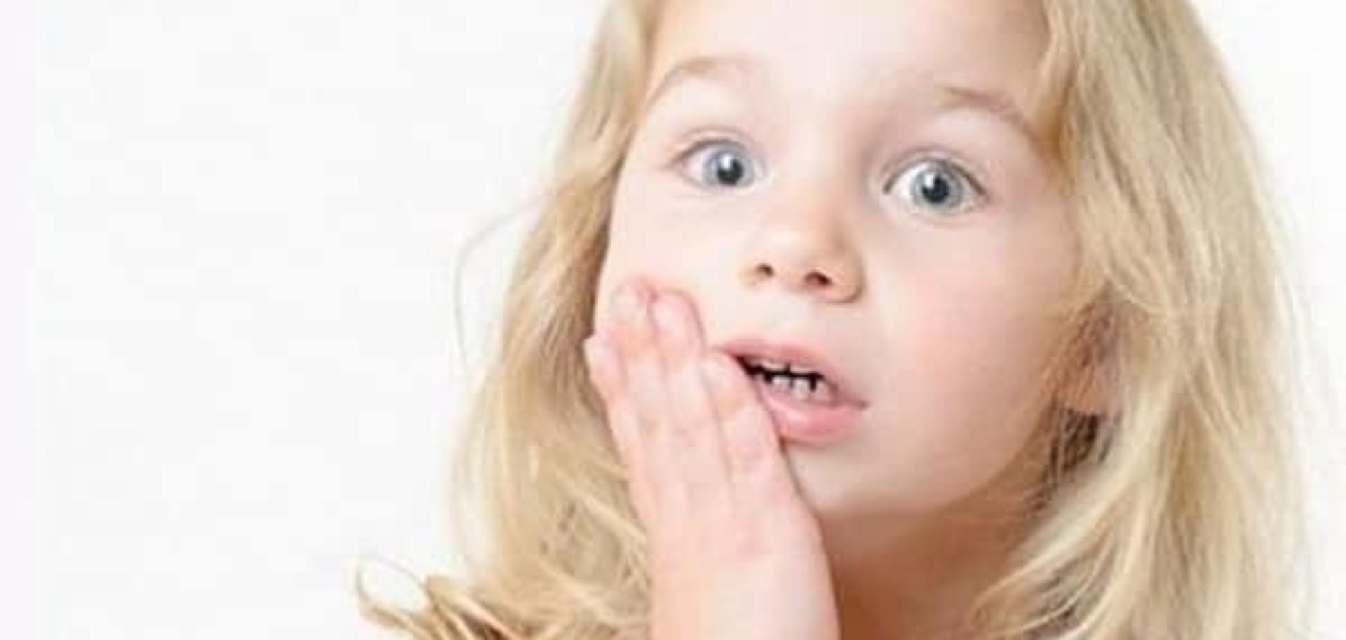 Травмы полости рта и зубов у детей
