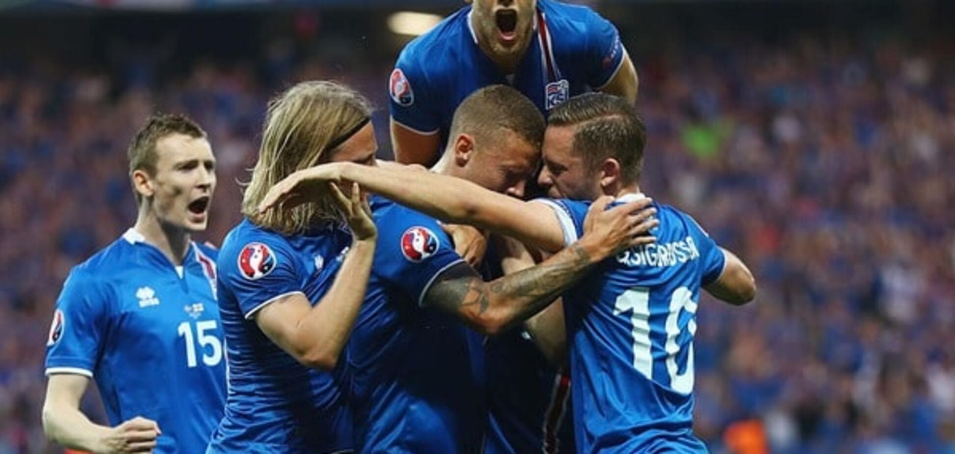 Англия – Исландия обзор