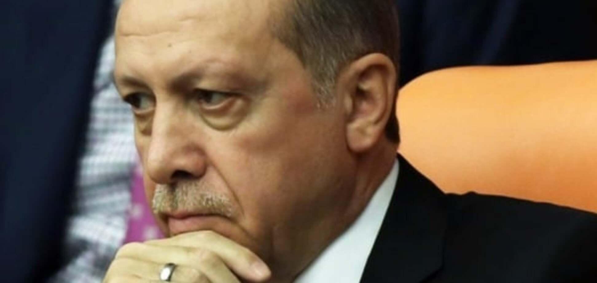 Вот и вся эрдогановская крутость
