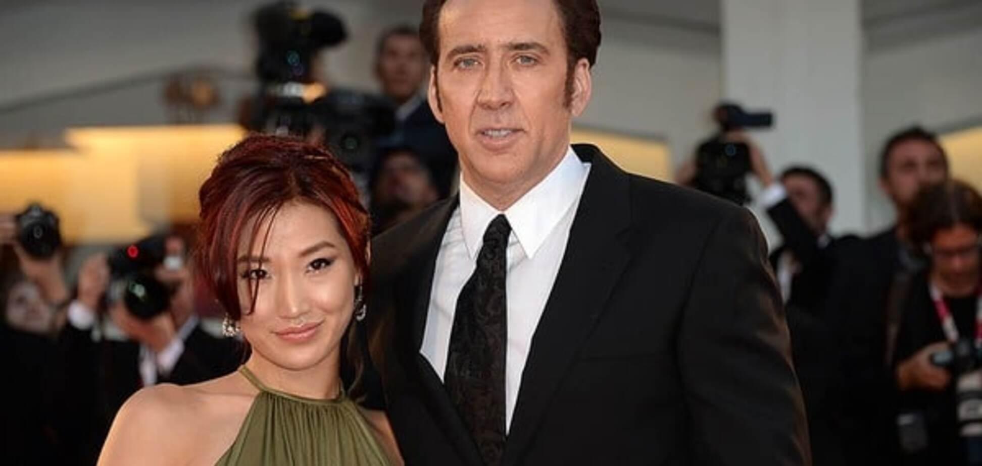 Николас Кейдж с женой