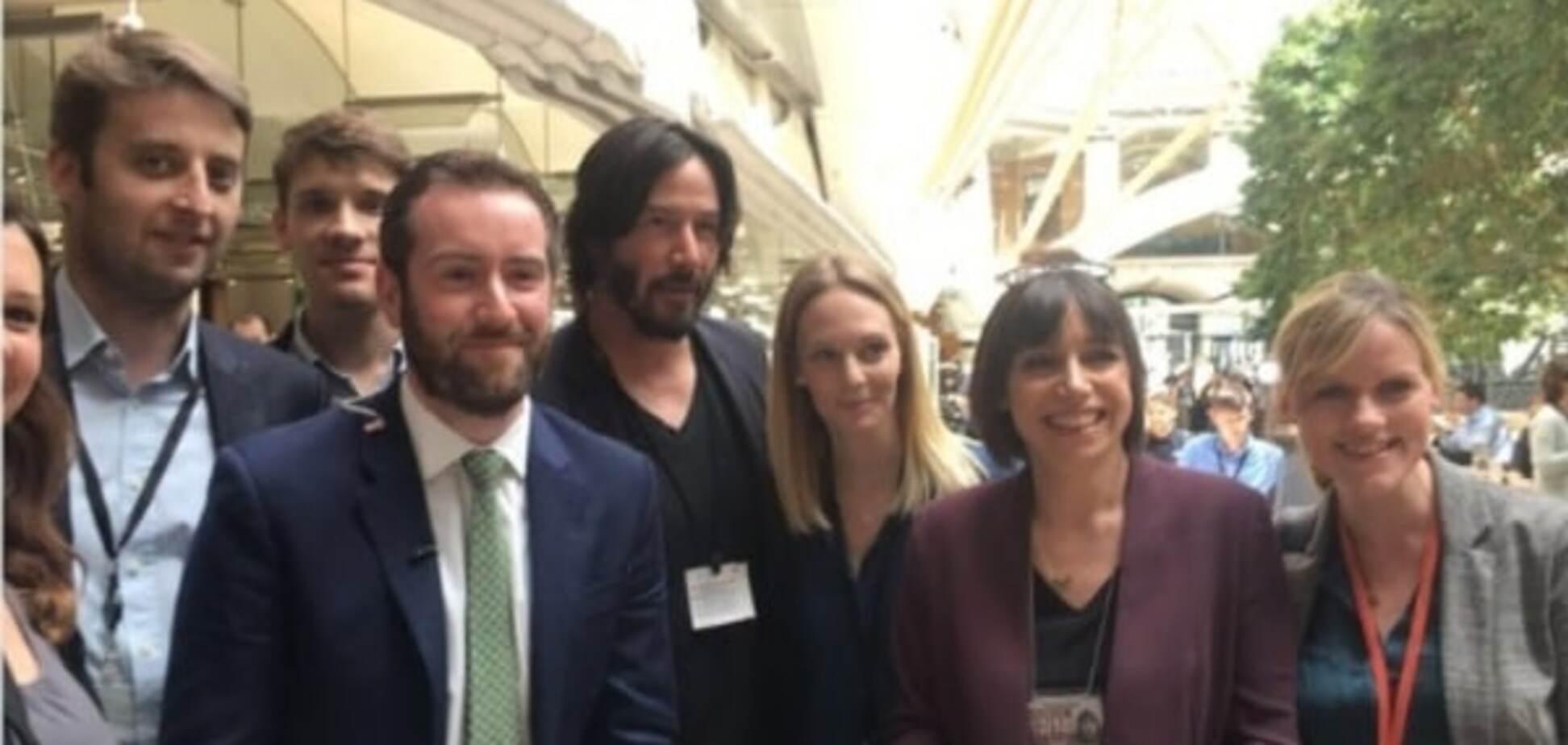Кіану Рівз в британському парламенті