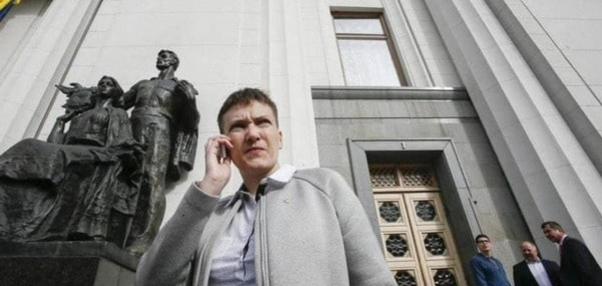 Надежда Савченко в Раде