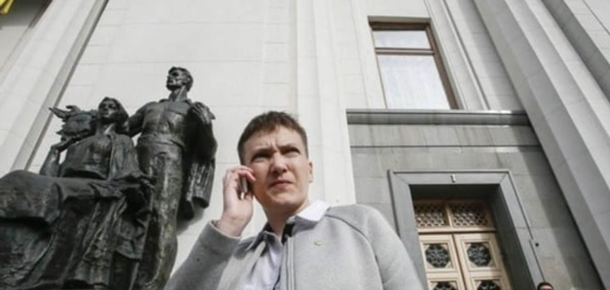 Савченко подвергается огромному испытанию