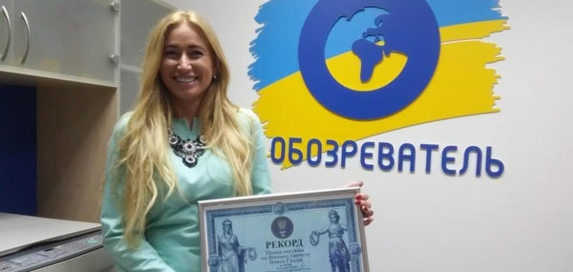 Первая в истории украинка, покорившая Эверест: на высоте 7700 м слушали 'Океан Ельзи'