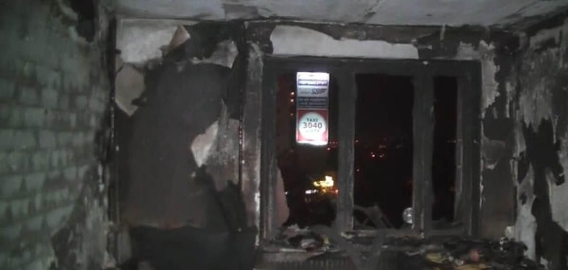 Последствия пожара в общежитие