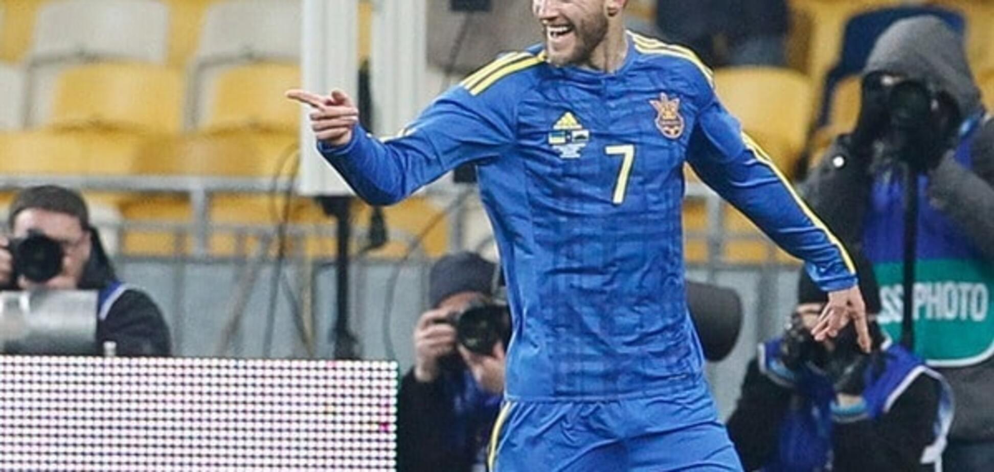 Андрей Ярмоленко сборная Украины