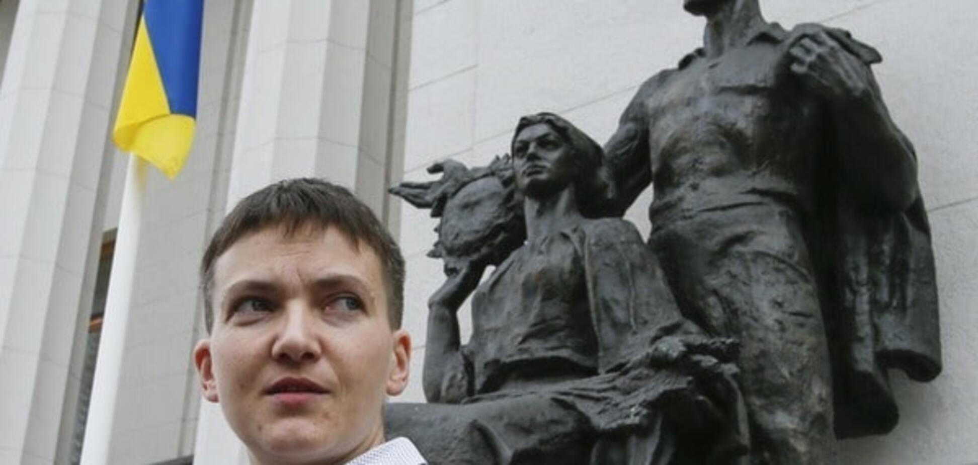 Критика Савченко –  это спонтанная 'ватная' реакция