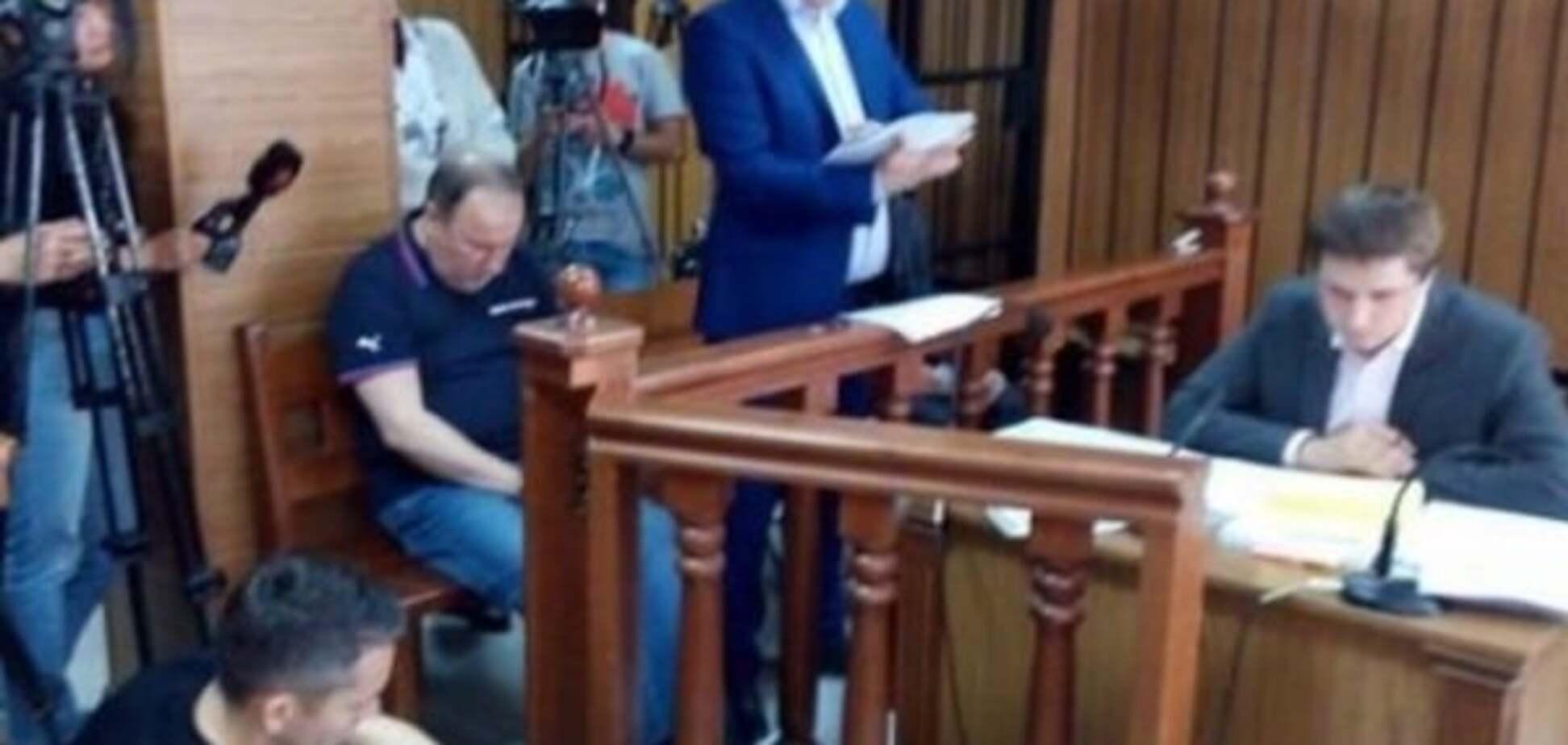 Николай Романчук в зале суда