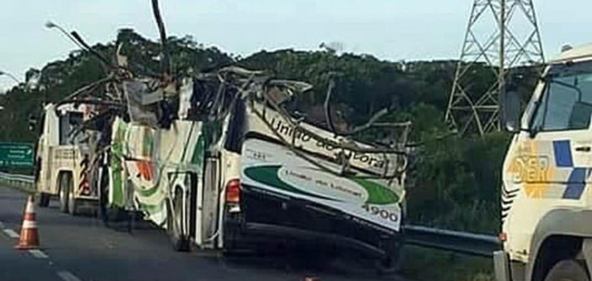 Аварія автобуса в Бразилії