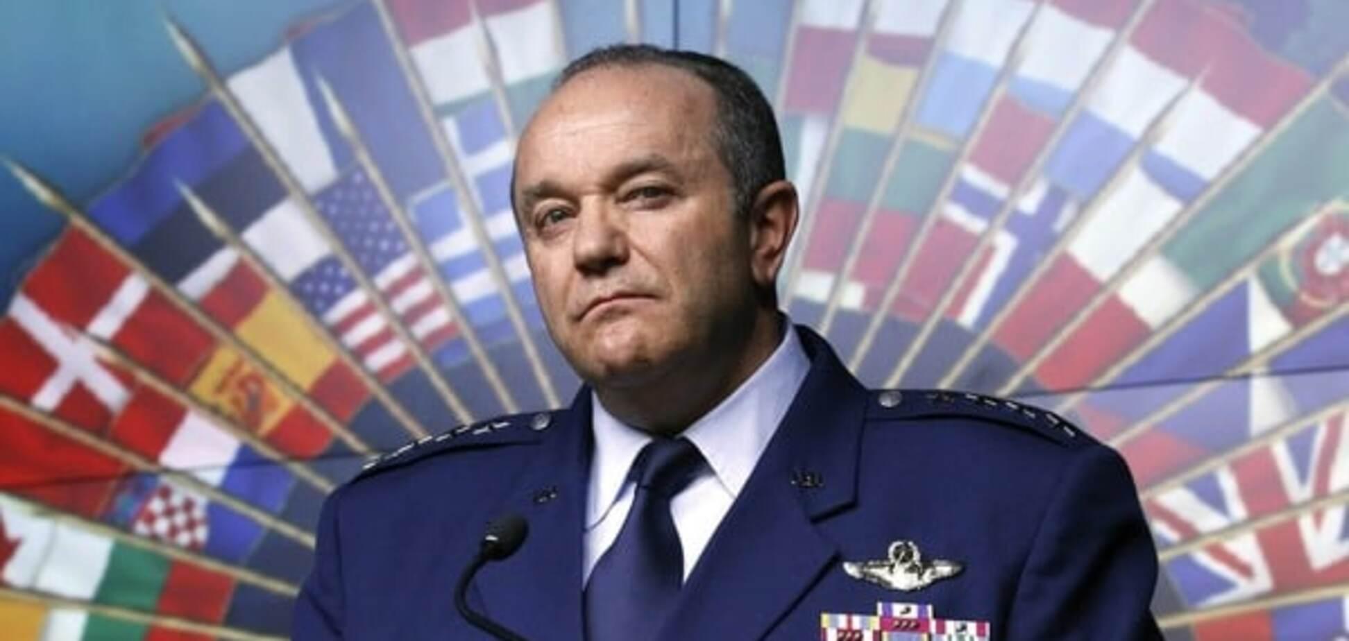 бывший верховный главнокомандующий силами НАТО в Европе