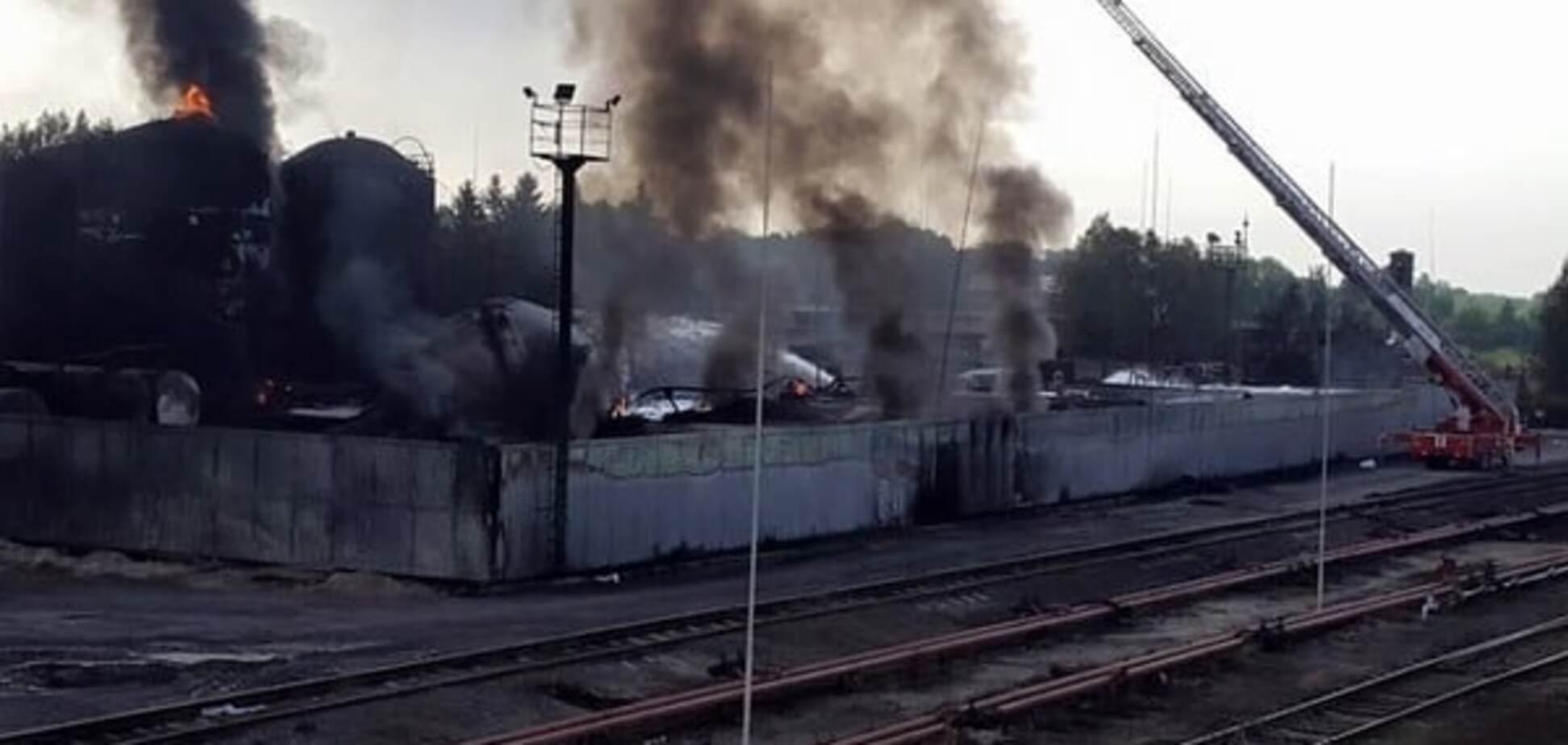 Поліція завершила розслідування пожежі на нафтобазі у Василькові