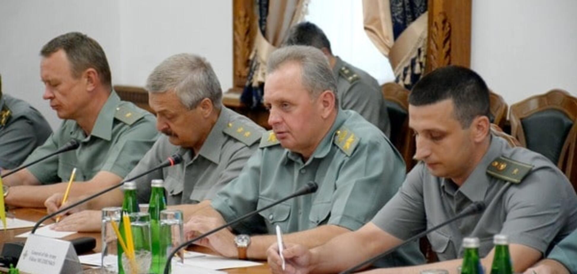 Глава Генерального штаба ВСУ Виктор Муженко