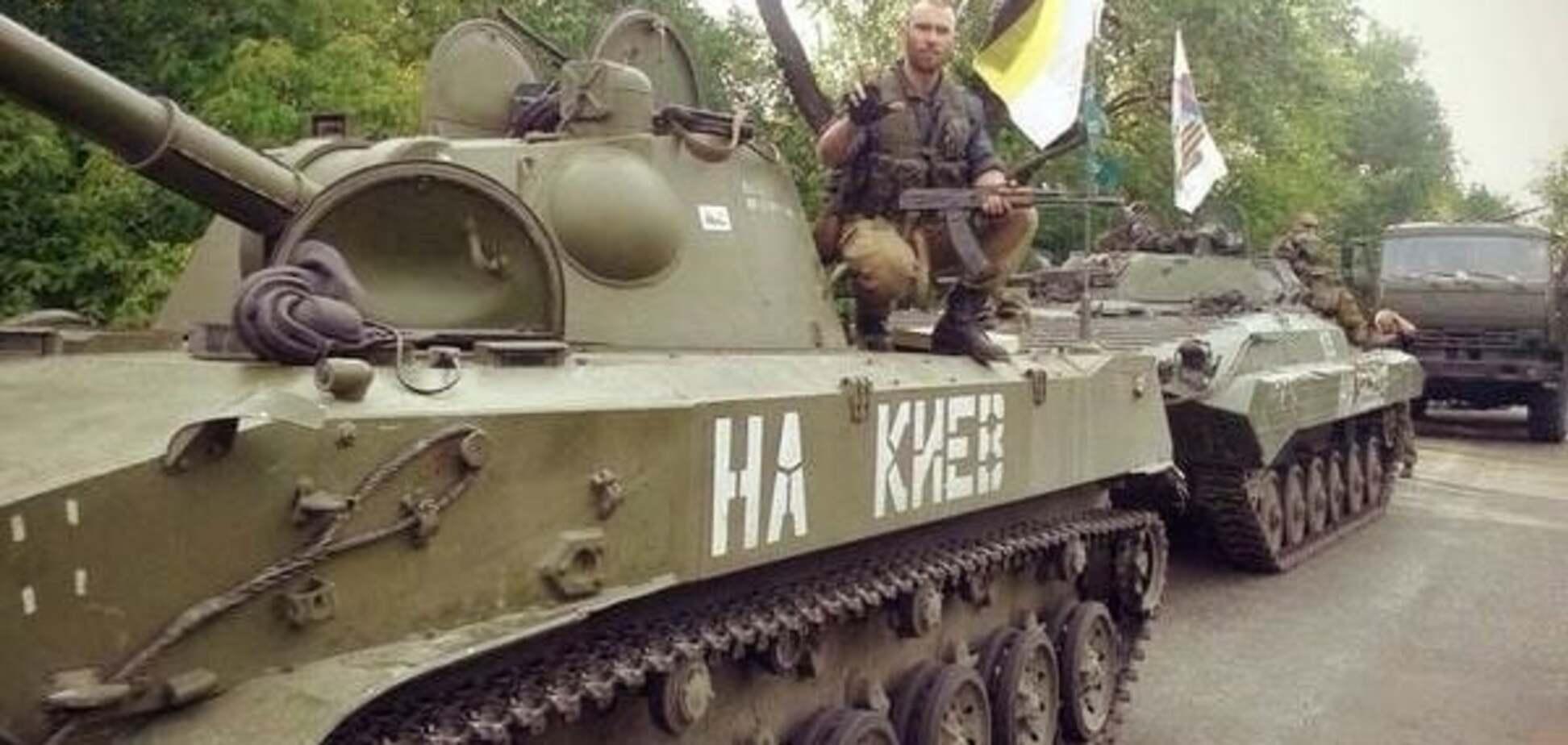 Россия перебросила на Донбасс 22 танка и 19 'Градов'