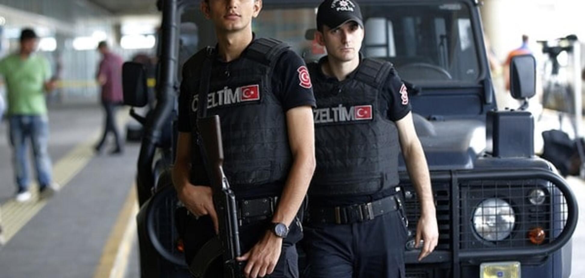 Правоохранительные органы Турции