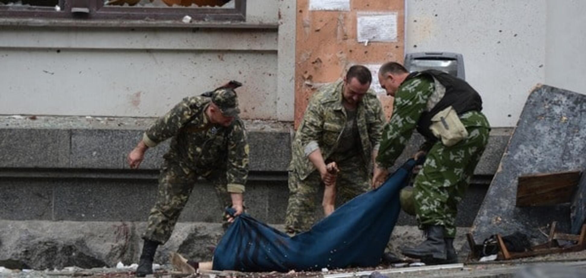 Россия понесла потери на Донбассе