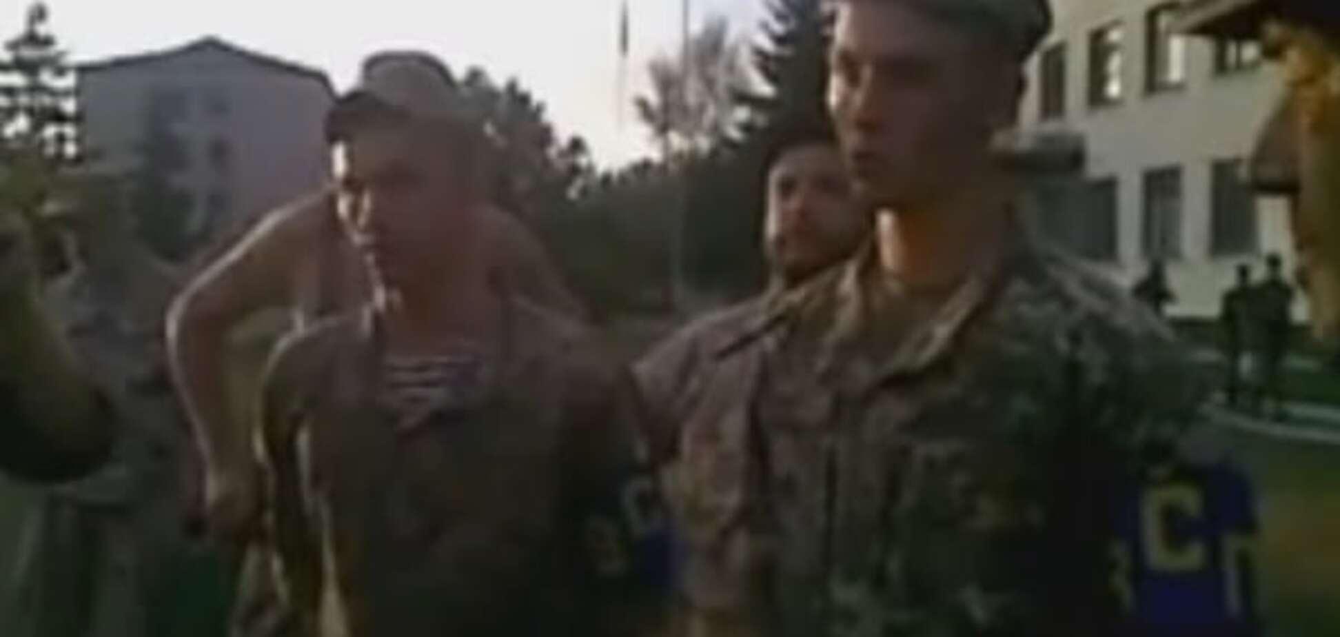 Пьяные офицеры ВСУ