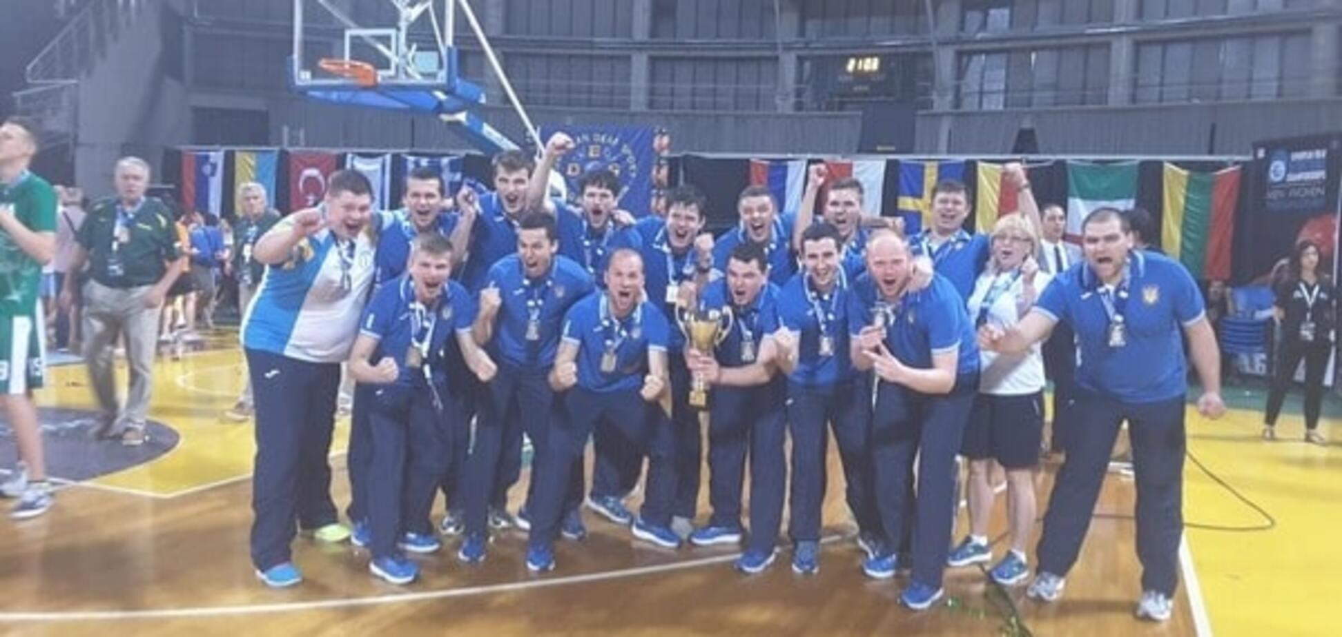 Паралимпийская сборная Украины по баскетболу стала вице-чемпионом Европы