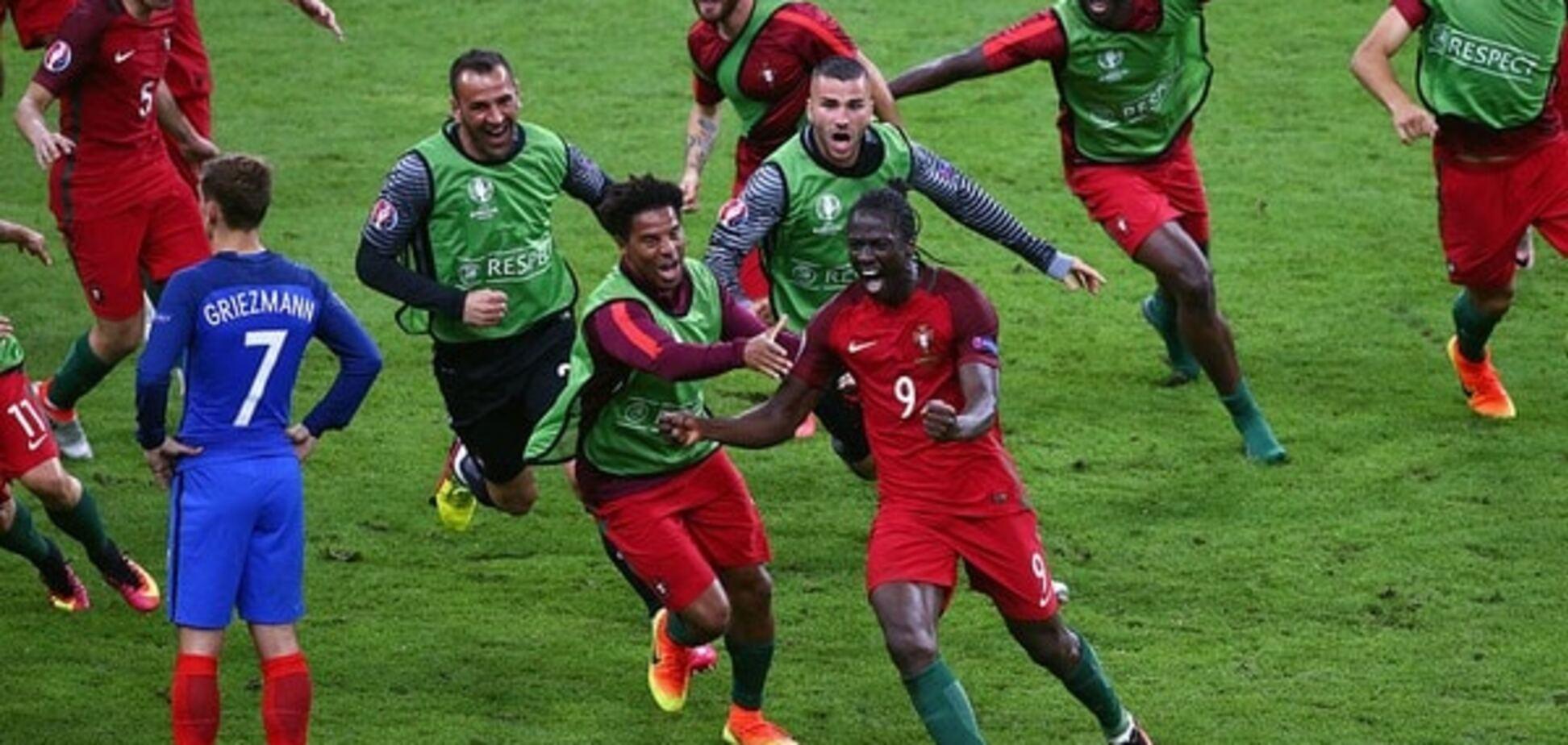 Сборная Португалии - чемпион Европы