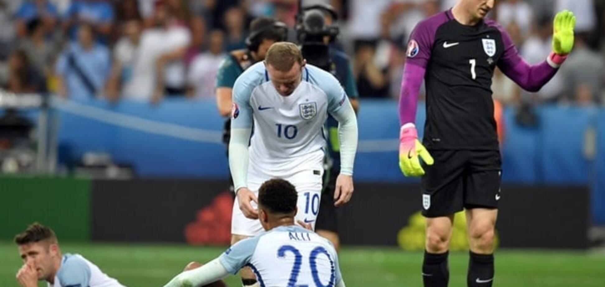 сборная Англии Евро-2016