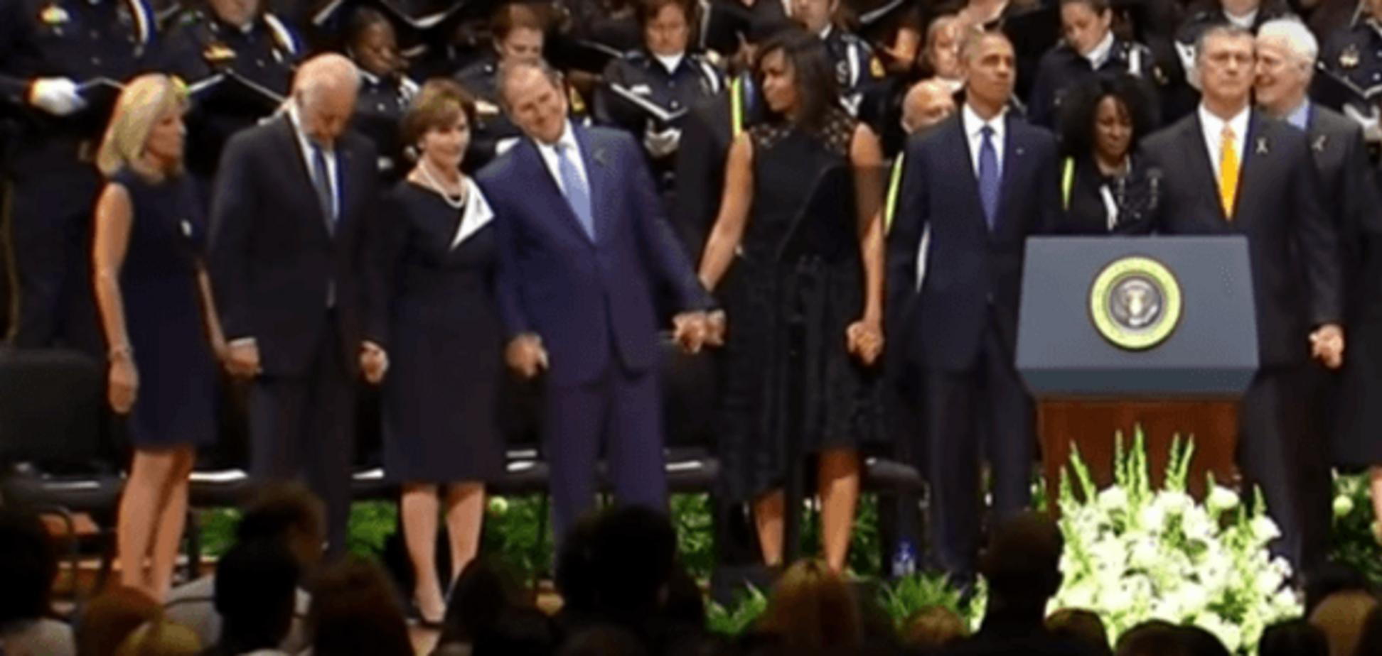 Скандал с Бушем