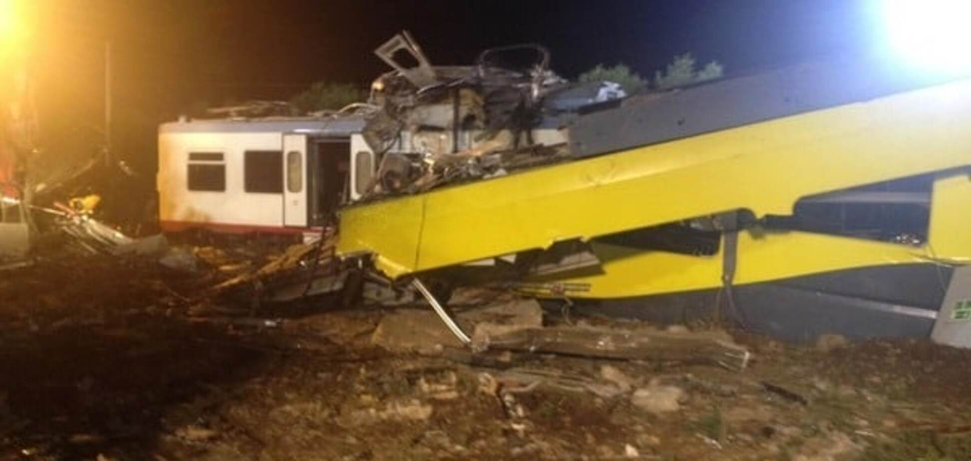 количество жертв столкновения поездов увеличилось до 27 человек