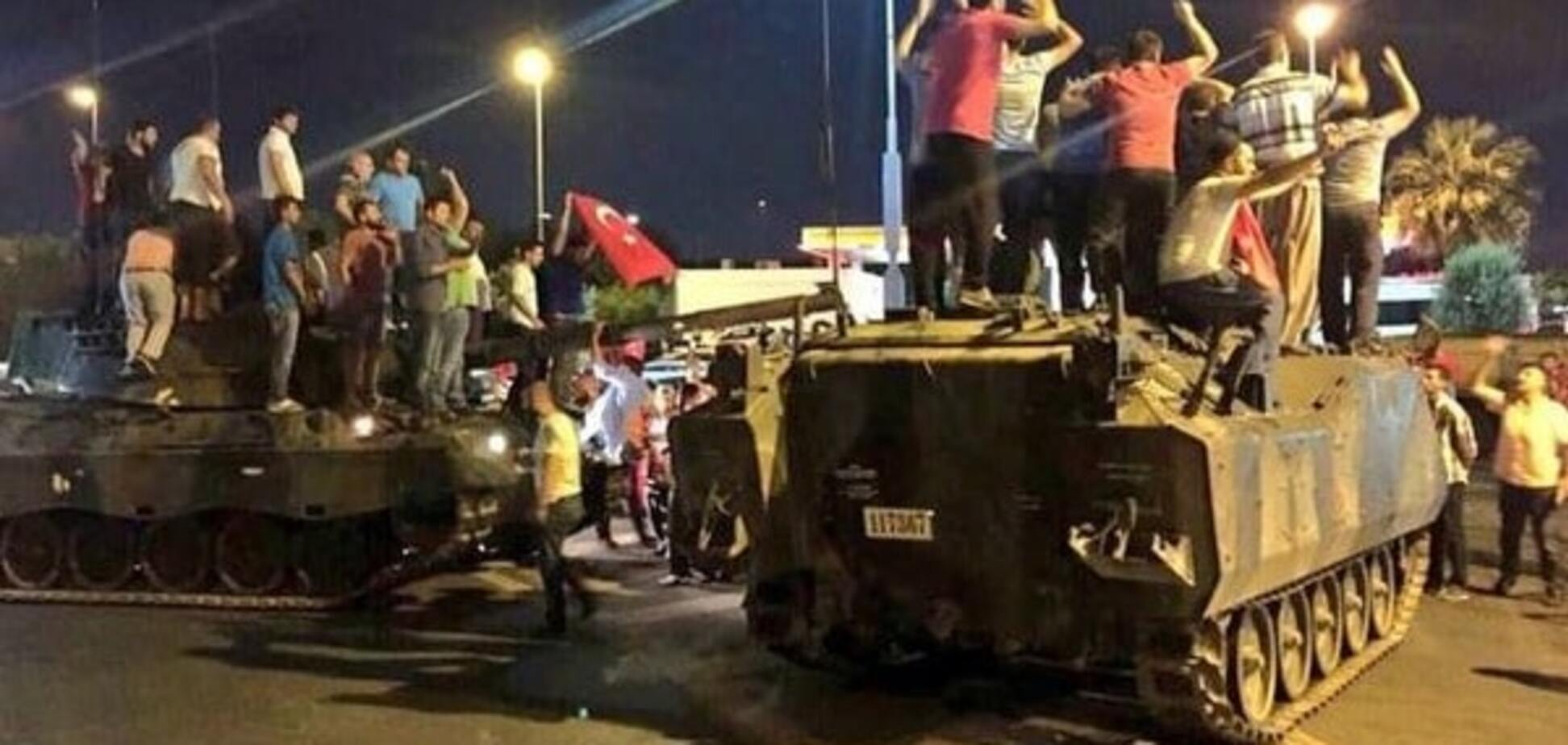 Переворот в Турции