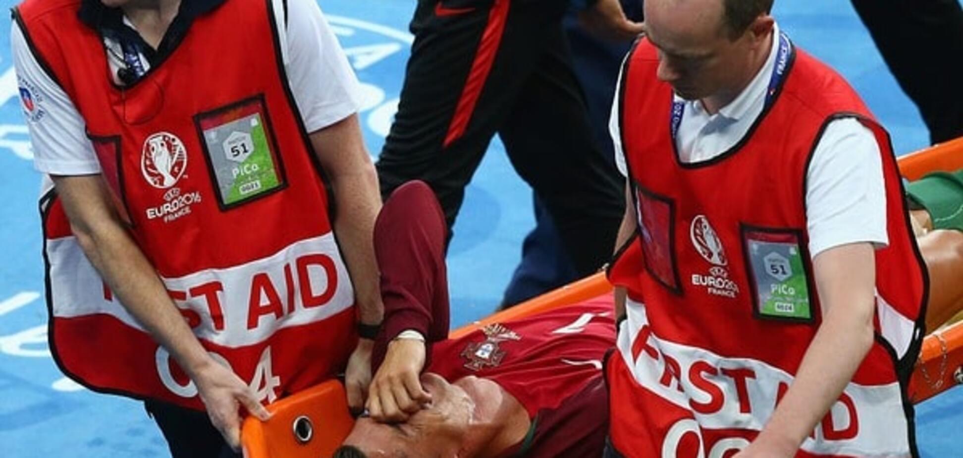 Кріштіану Роналду травма