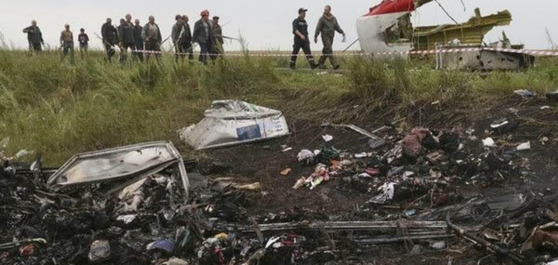 Крушение \'Боинга\' на Донбассе