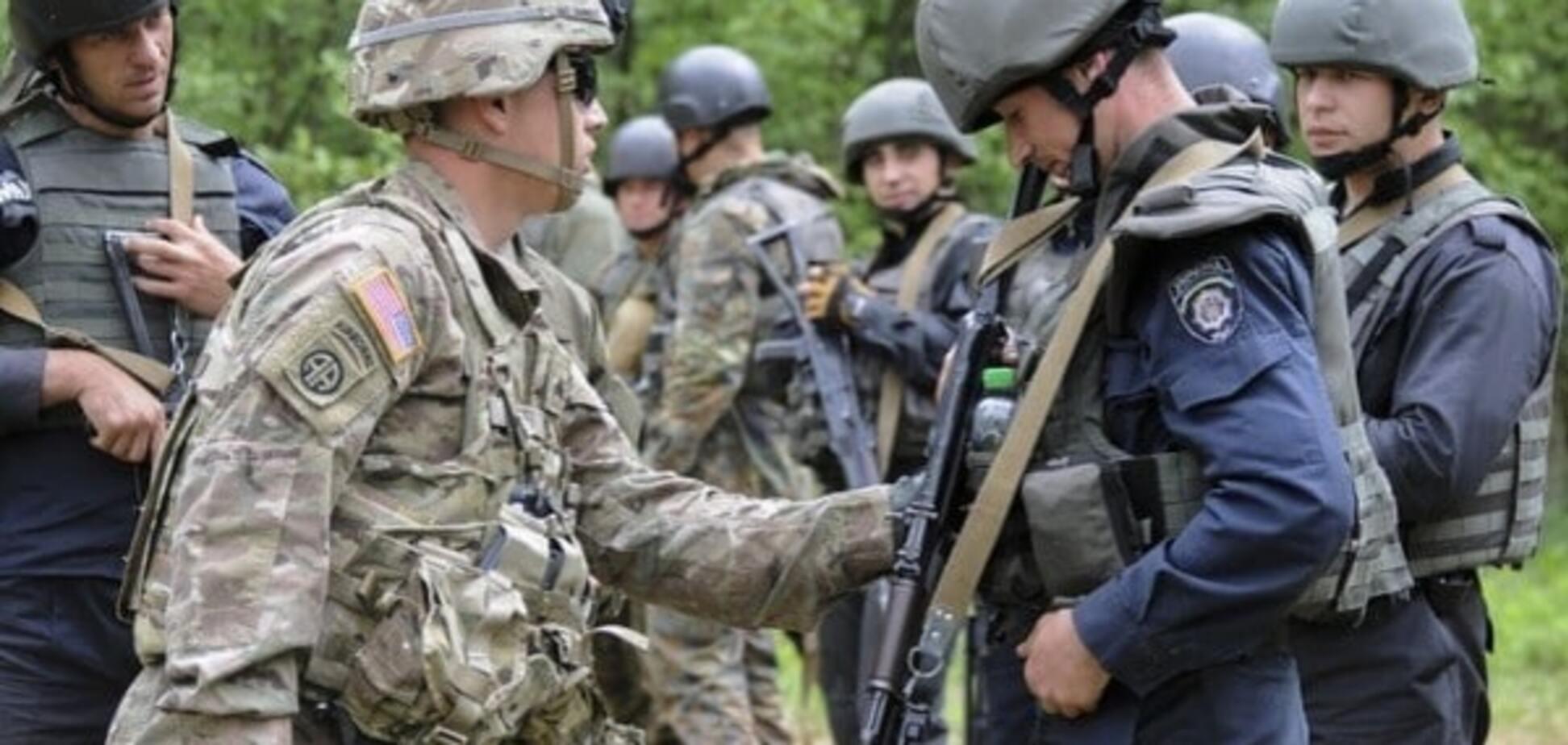 Армия США в Украине