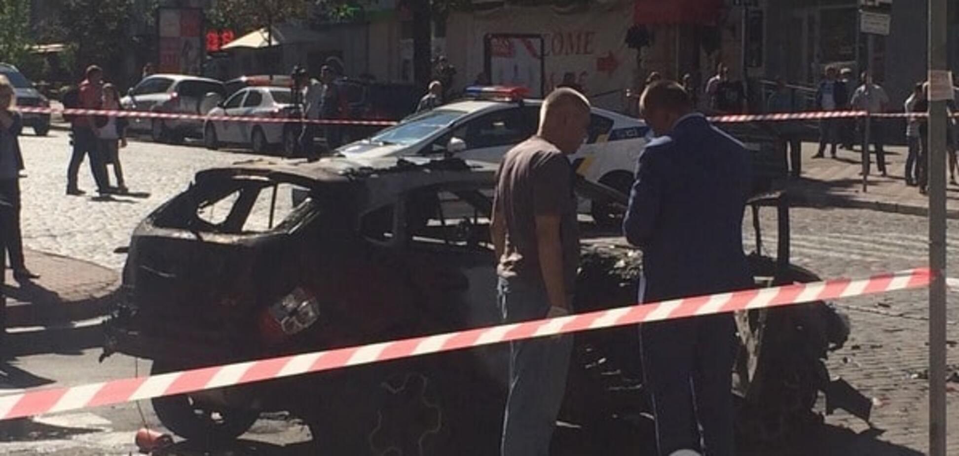 Взрыв машины с Шереметом