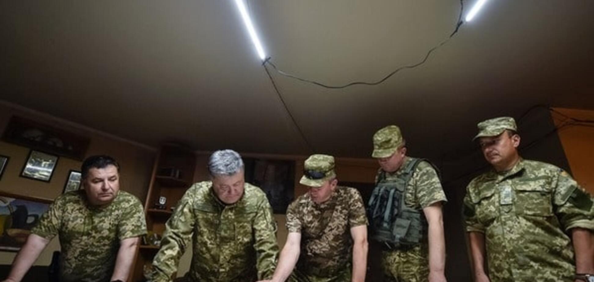 порошенко война