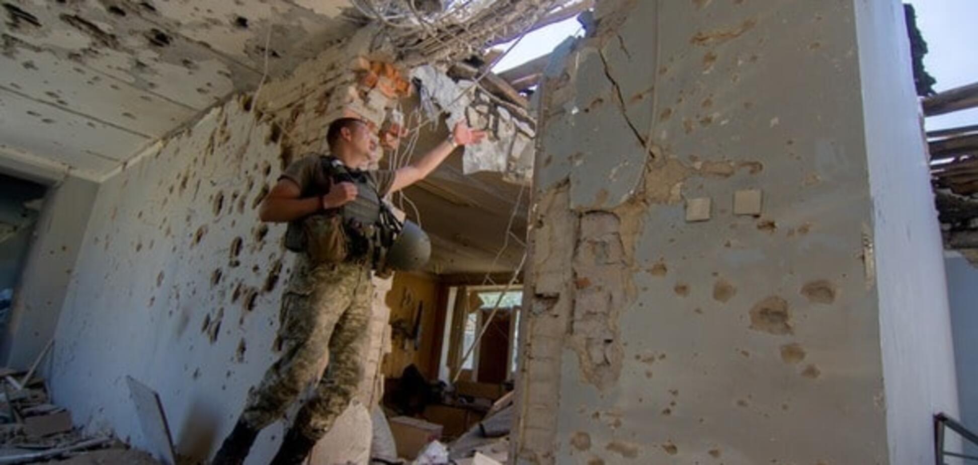 Террористы атаковали бойцов АТО в Авдеевке из запрещенной артиллерии