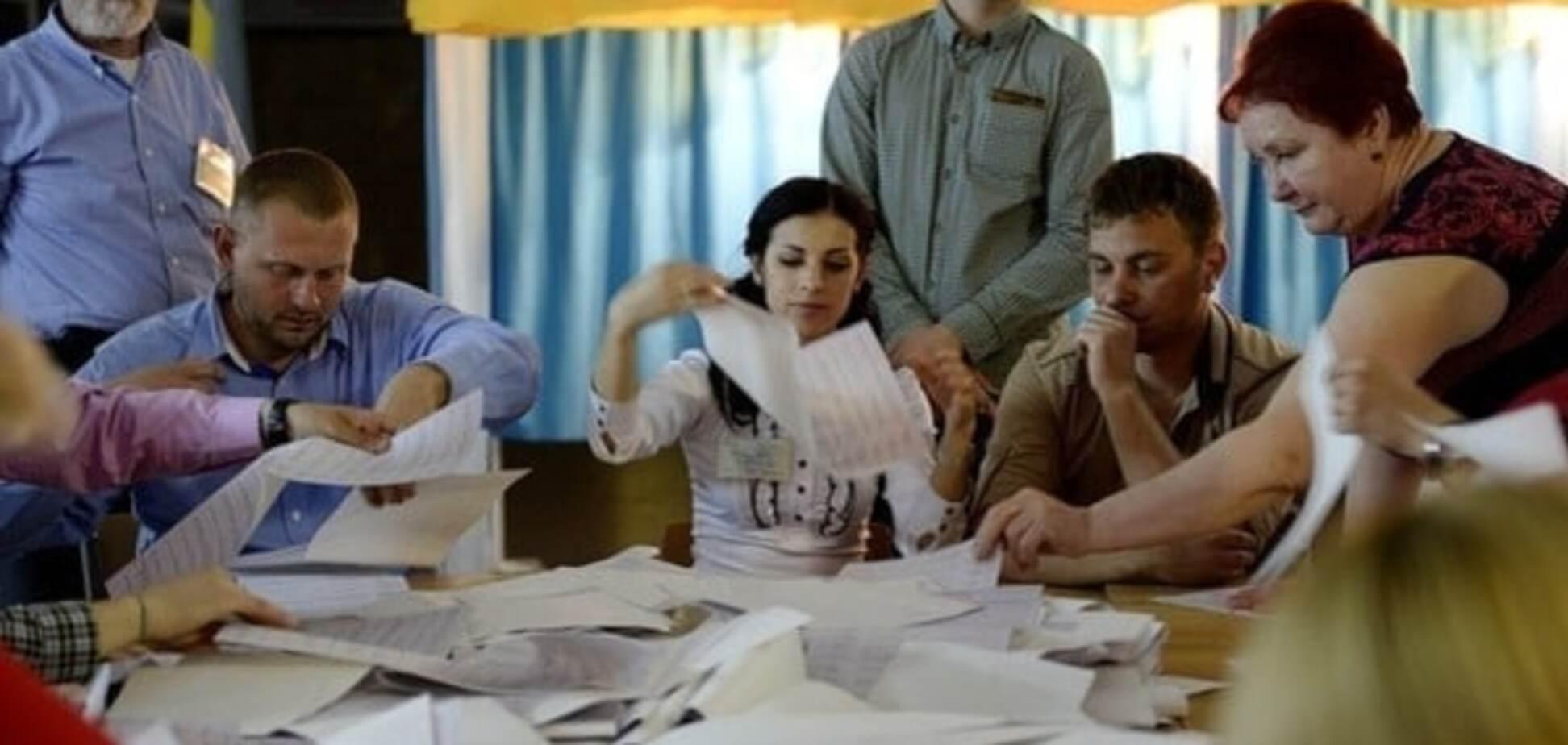 Довибори в Раду: на Полтавщині ОВК зупинила підрахунок голосів