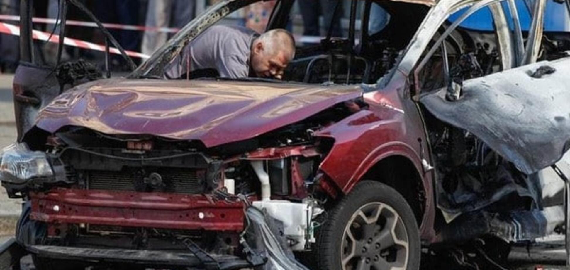 Взрыв машины Шеремета
