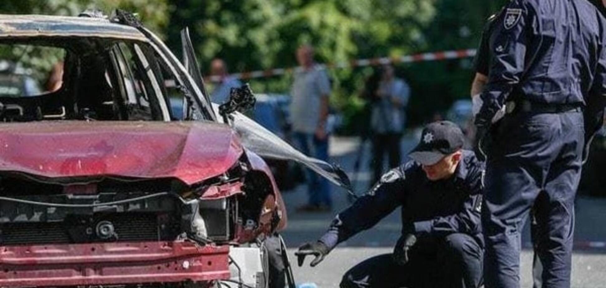 Авто, в котором взорвали Шеремета