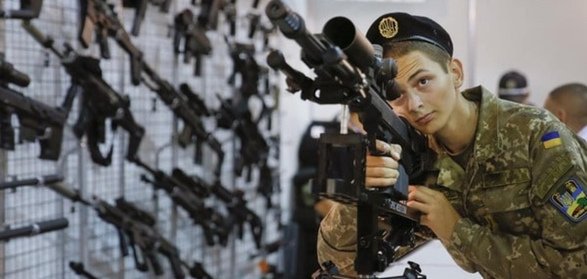 оружие солдат
