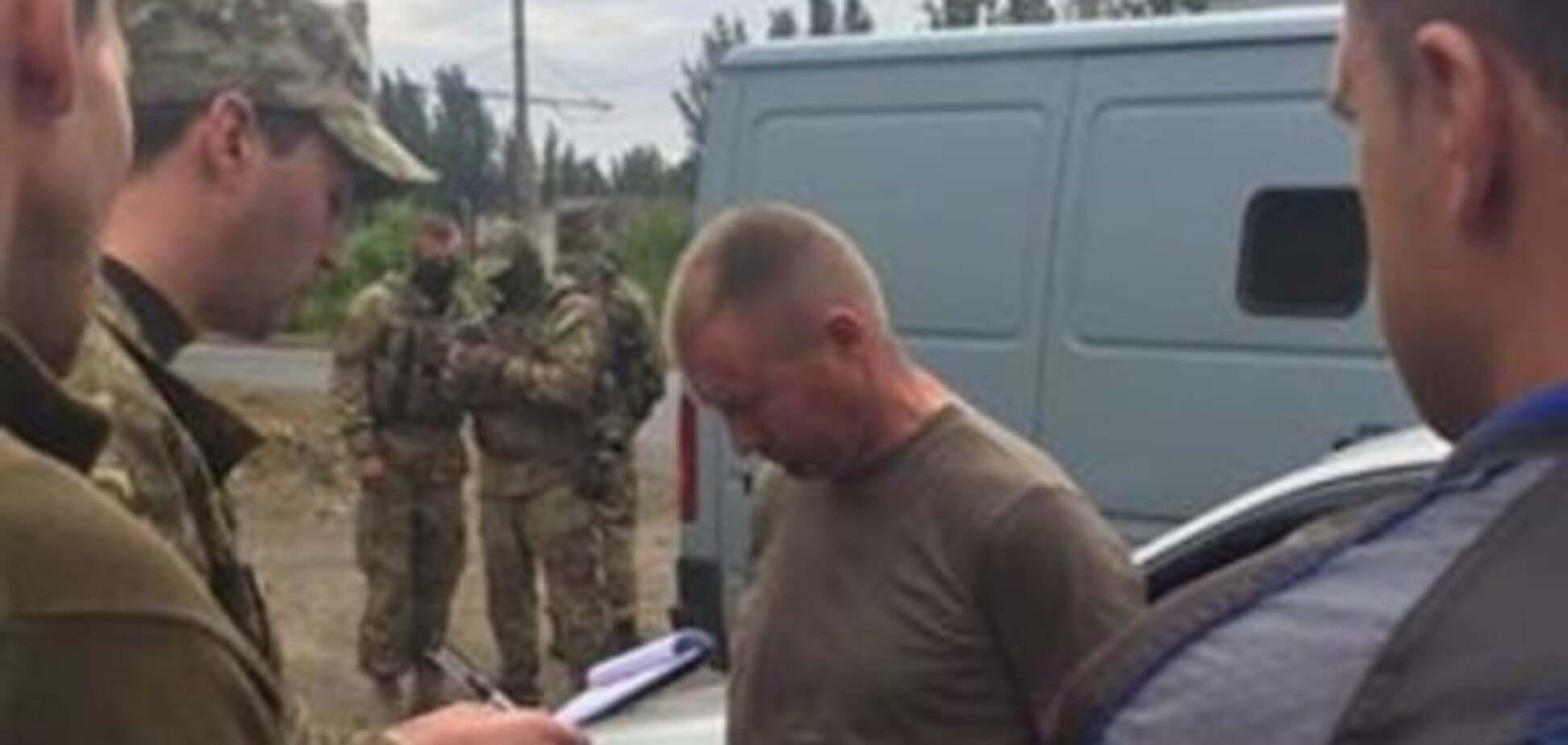 В зоне АТО задержали офицера 53 бригады, продававшего террористам боеприпасы: опубликованы фото