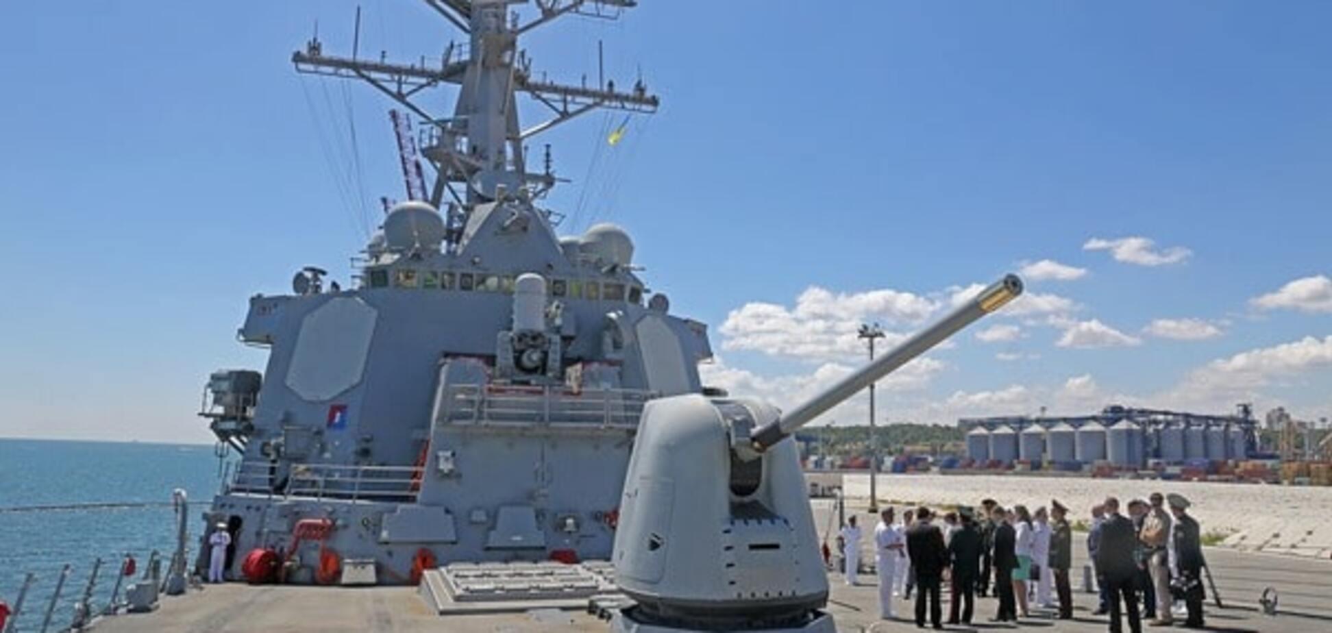 Эсминец ВМС США «Росс»