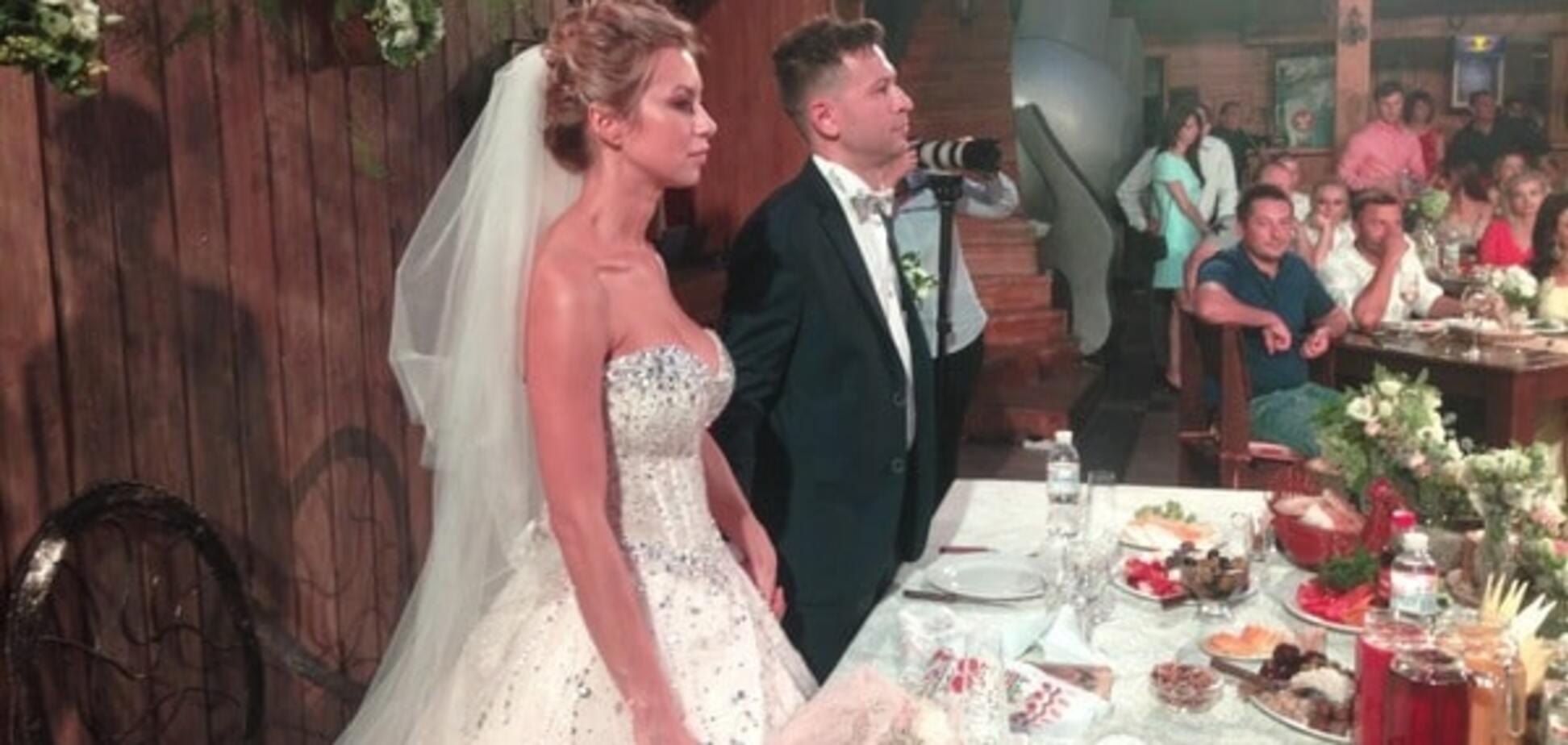 Ступка і Логунова весілля фото