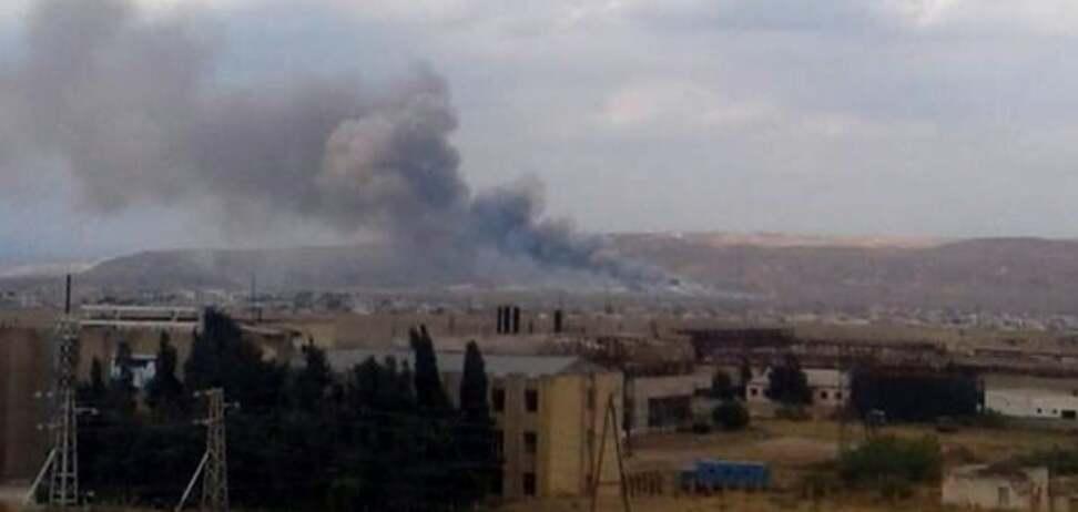Взрыв в Азербайджане