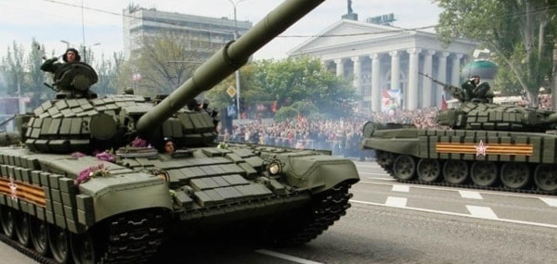 Танки \'ДНР\' на Донбассе