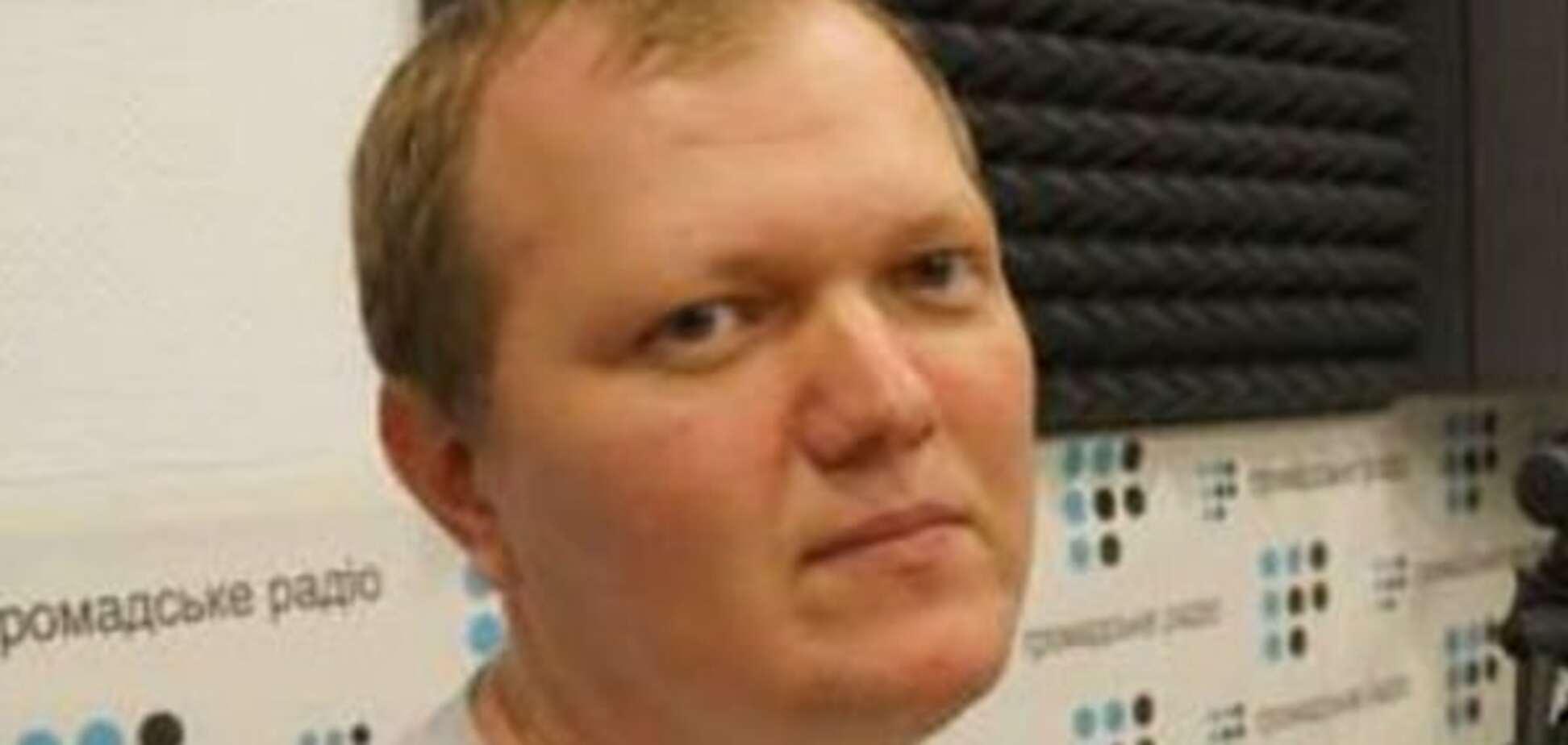 Журналіст Сергій Головньов