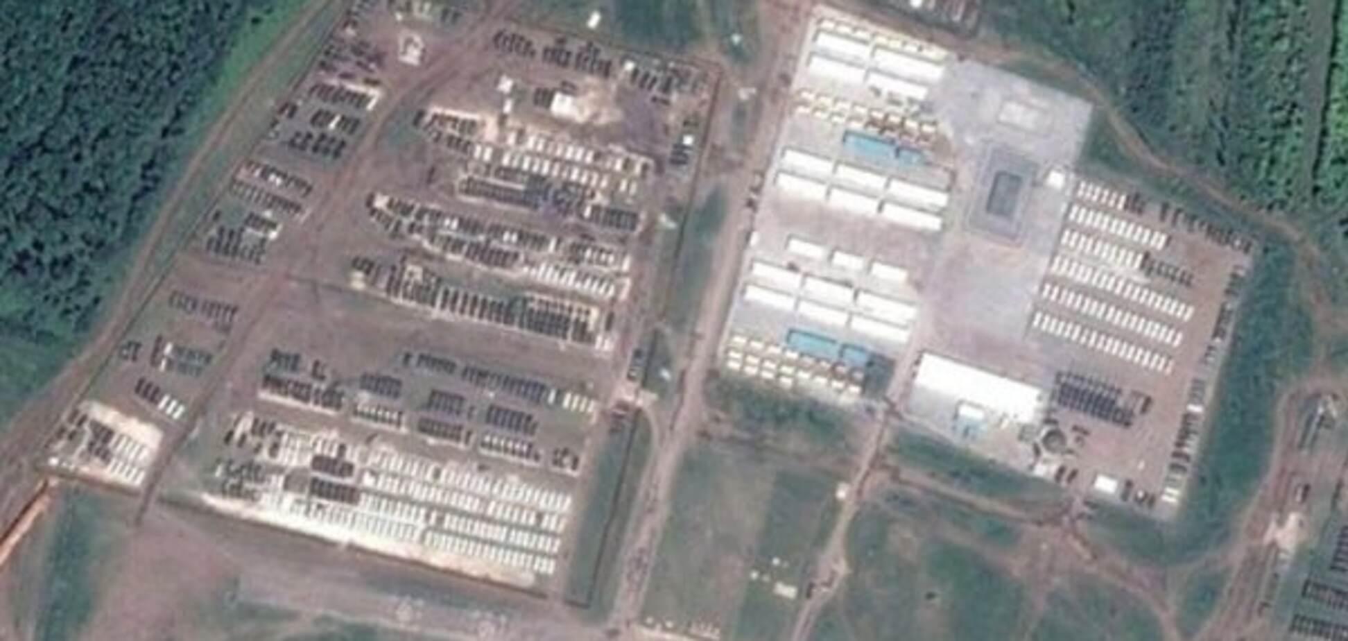 'Их там нет': появились фото российской военной базы на границе с Украиной
