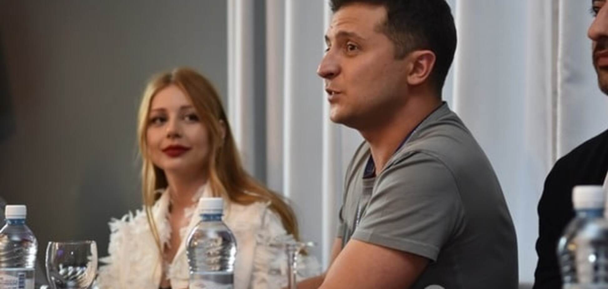 Тина Кароль и Владимир Зеленксий
